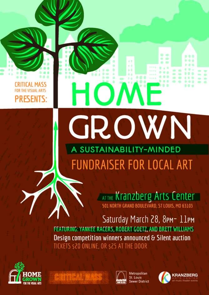 HomeGrown_fundraiser poster