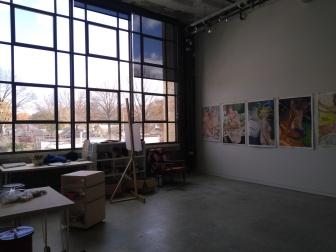 Crosstown Arts, Individual Artist Studio (Courtesy of Lizzy Martinez)
